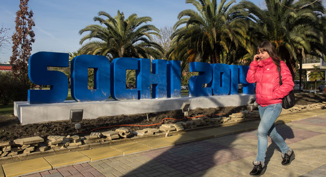 Sochi is a tourist hotspot the equal of anything in Europe. Source: Mikhail Mokrushin / RIA Novosti