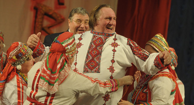 President Vladimir Putin granted Mr. Depardieu Russian citizenship in 2013. Source: TASS