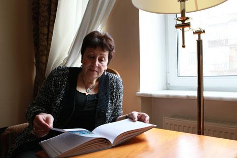 Dina Rubina, Russian writer from Uzkekistan who lives in Israel. Source: RIA Novosti / Pavel Balabanov