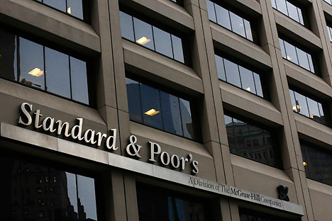 "Standard&Poor's has changes its outlook on ratings of 16 Russian companies from ""negative"" to ""stable."""