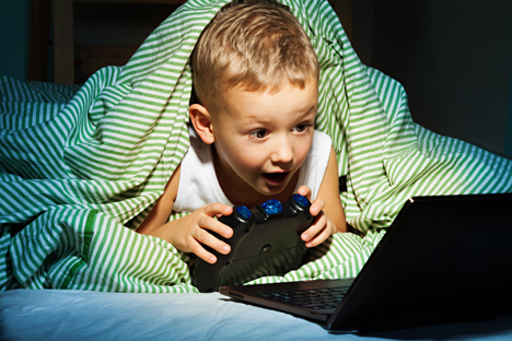 For a child, an online game is one of the most effective ways of studying the history of one's country. Source: Lori/Legion Media