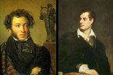 Tracing Lord Byron's influence on Pushkin