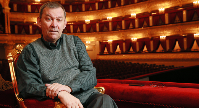 "Vladimir Urin: ""It's important to understand that the general director is first of all responsible for the results of the artistic policy."" Source: Pavel Smertin / TASS"
