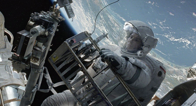 A screenshot from Gravity movie. Source: Kinopoisk.ru