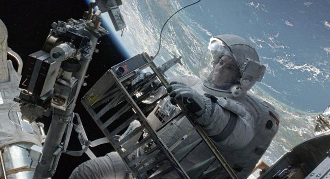 A screenshot from Gravity movie. Source: Kinopoisk.ru