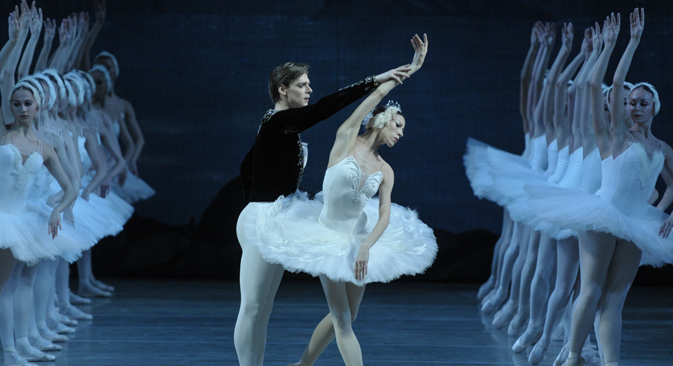 Tereshkina-Shklyarov solo part. Source: Valentin Baranovsky/Mariinsky Theater.