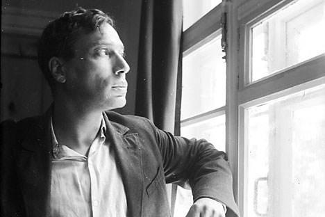 Boris Pasternak in 1936. Source: Institute of Russian Literature