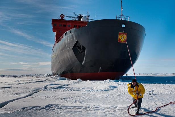 Russian Megafactories: Unique Atomic Icebreakers