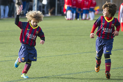 Fc Barcelona To Open Childrens Soccer Camp In Sochi Russia Beyond