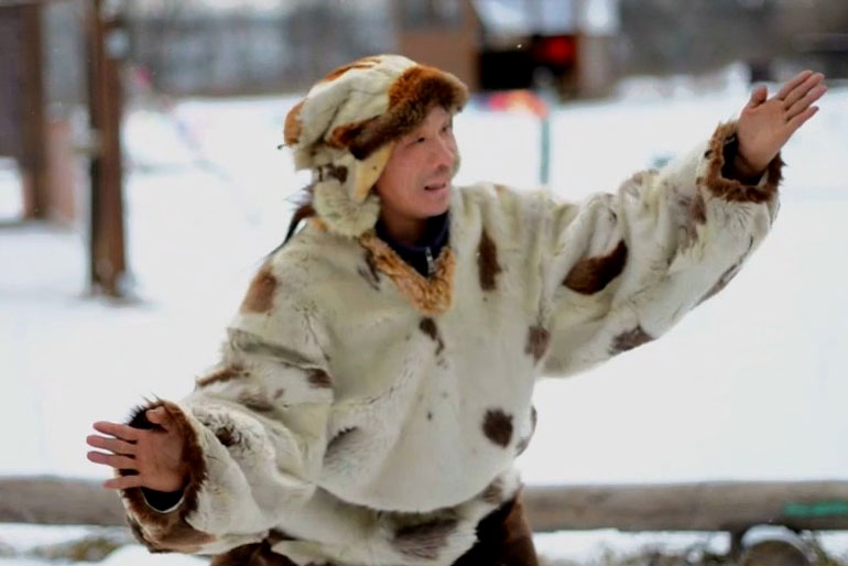 A legal alien: Being an Eskimo in Moscow>>>