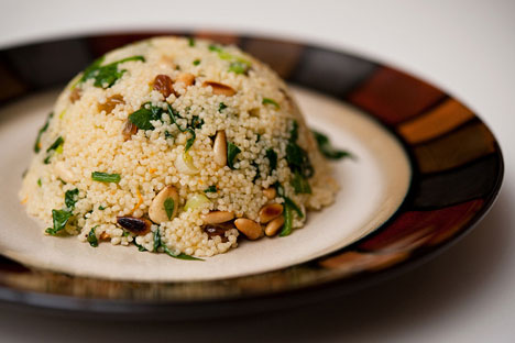 Dessert couscous. Source:  Paul Goyette / Flickr