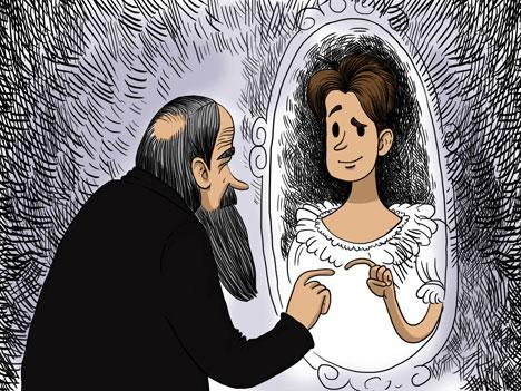 Ilustração: Tatiana Pereluíguina