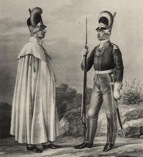 Potret dua orang prajurit dari Tentara Potemkin