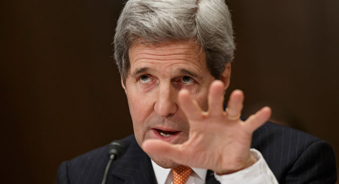 "John Kerry: ""Plan B includes toughening the sanctions and providing additional support to Ukraine."" Source: AP"