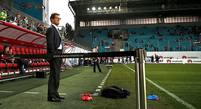 The national football coach Fabio Capello. Source: AP