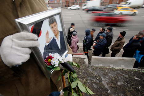 Opposition campaigner, ex-deputy prime minister Boris Nemtsov was killed in central Moscow in 2015.