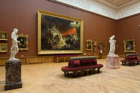 Interior do Museu Estatal Russo, em São Petersburgo