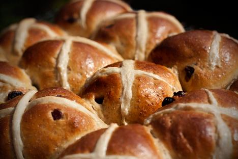 Hot Cross Buns. Source:  Sarah Horrigan / Flickr