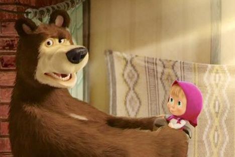 Serial animasi Masha dan Beruang berhasil mencetak sukses di seluruh dunia.