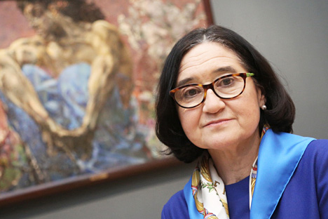 The director of the Russian State Tretyakov Gallery Zelfira Tregulova.