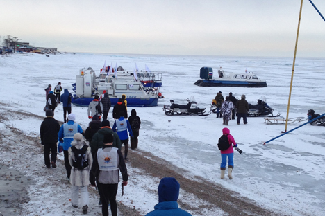 More than 650 people sent applications for the running across Baikal. Source: Lara McCoy