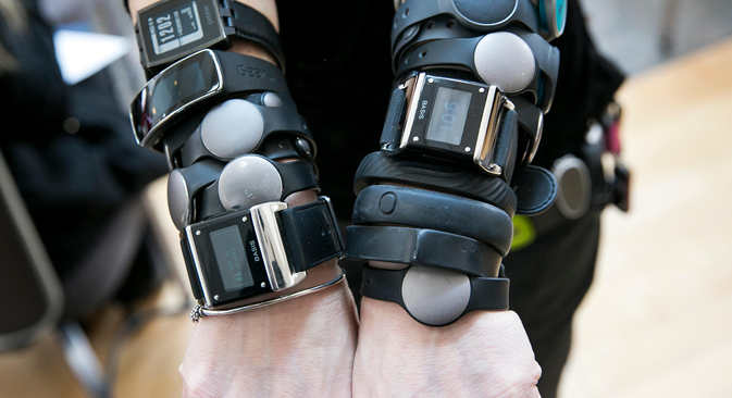 According to Juniper Research, 19 million fitness bracelets were sold in 2014. Source: Alamy / Legion Media