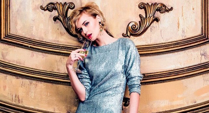 Polina Gagarina has no connection with a famous cosmonaut. Source: Press photo
