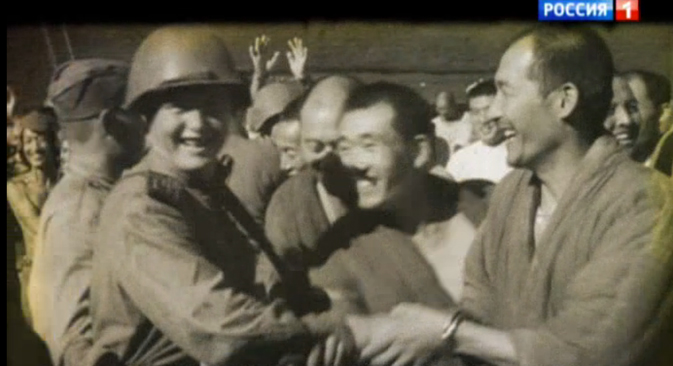 "A still from the Sergei Brilyov's documentary film ""Pyongyang – Seoul. And Further..."" Source: 'Rossiya' TV channel"