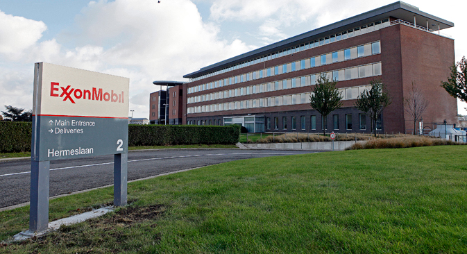 ExxonMobil has a 30-percent stake in the Sakhalin oil and gas project. Source: Reuters