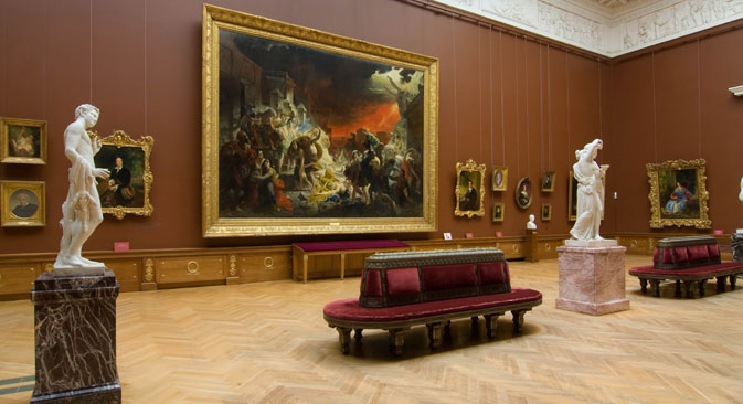 Inside the Russian Museum in St. Petersburg. Source: Press photo