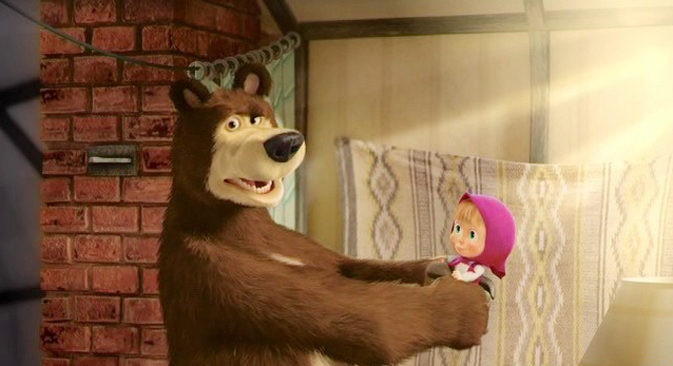"""Masha and the Bear."" Source: Kinopoisk.ru"