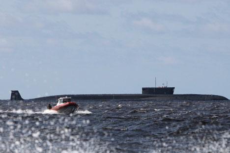 Руска ядрена подводница