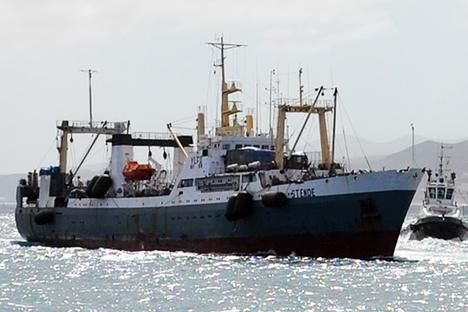 Acidente com pesqueiro na madrugada dessa quinta-feira (2) resultou em 56 mortes até o momento Foto: TASS
