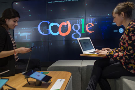 O Google consolidou sua posição no país apenas recentemente. Mas o líder do mercado local ainda é o buscador Yandex Foto: EPA