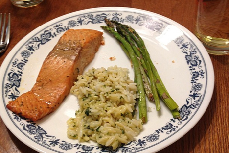 Orange Glazed Salmon. Source: Will Gurley /  Flickr