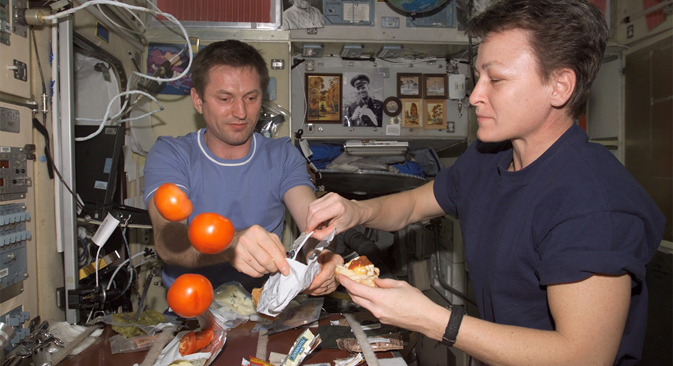 What types of food are suitable for consumption in space? Source: NASA