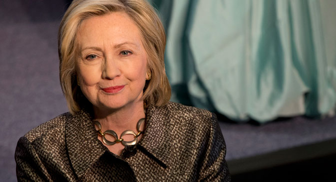 Hillary Clinton's hopes of becoming U.S. President have taken a setback after revelations that the Clinton Foundation may have accepted payments from Russia. Source: AP
