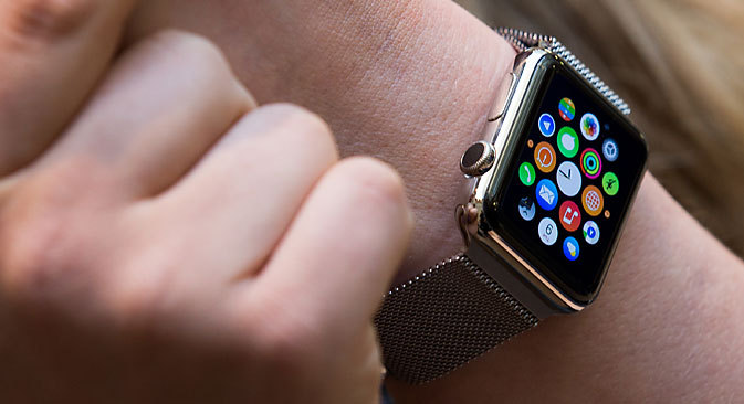 Official sales of the Apple Watch in the U.S., France, Germany, Japan and five other countries began on April 24. Source: EPA