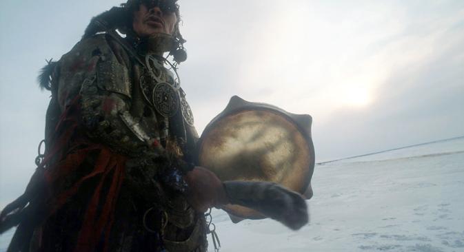 A Nenets tambourine. Source: Igor Mikhalev / RIA Novosti