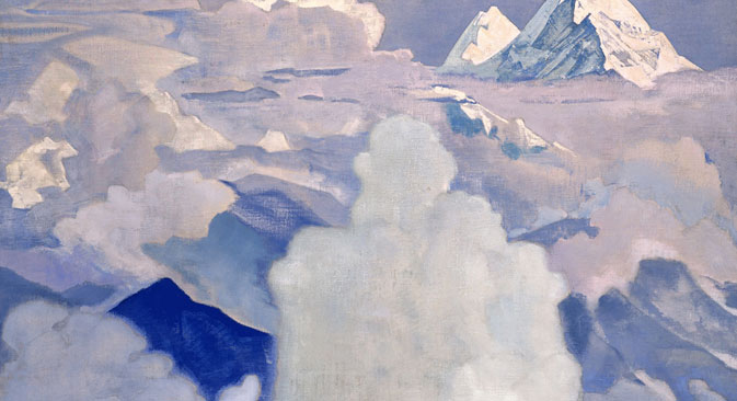 Nicholas Roerich, White and heavenly. Source: Christie's