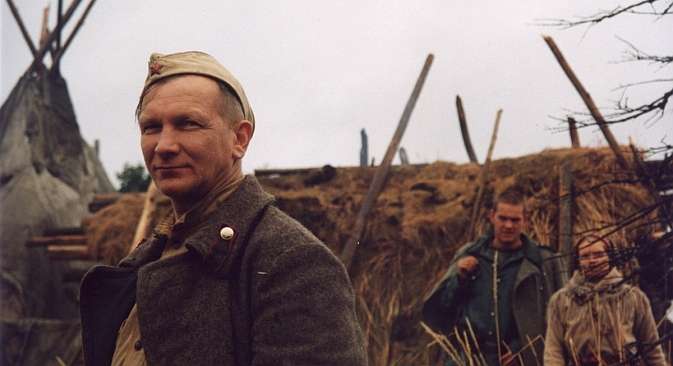 "Among the more recent Russian movies about World War II, Rogozhkin's ""The Cuckoo"" may be the most satisfying. Source: Kinopoisk"