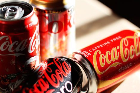 Coca-Cola Zero hits Russian market as soft drinks giant seeks new growth