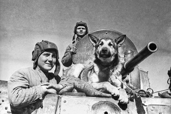Great Patriotic War. Scouts, April 25, 1942. Source: ITAR-TASS