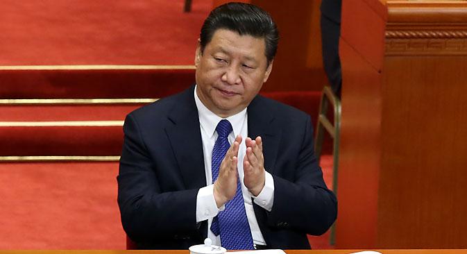 Chinese President Xi Jinping. Source: EPA