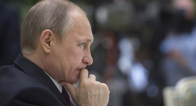 Russian President Vladimir Putin. Source: Reuters