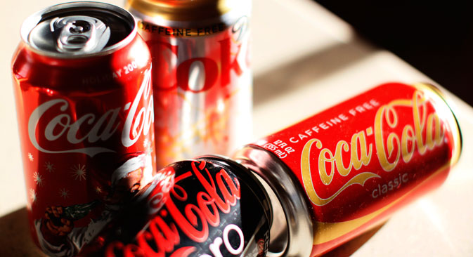 Coca-Cola Zero first appeared on the U.S. market in 2005 and is now sold in 160 countries. Source: Reuters