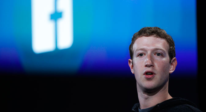 "Mark Zuckerberg ""did not understand"" Ukrainian President Petro Poroshenko's request for the social network to open a dedicated office in Ukraine. Source: Reuters"