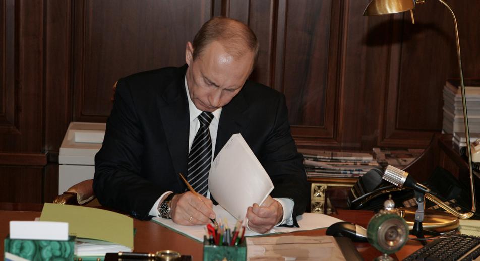 Vladimir Putrin. Source: Mikhail Klementyev / TASS