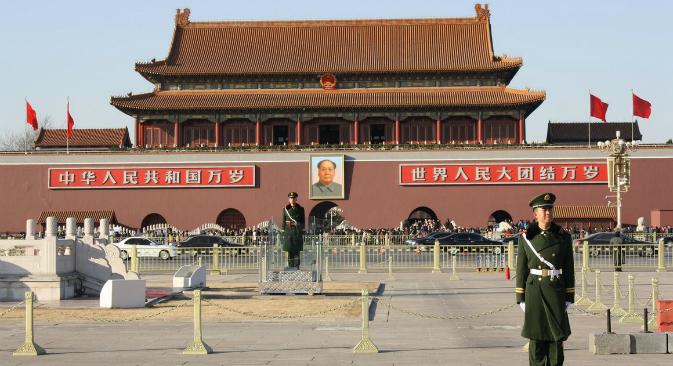 Tiananmen square. Source: Ajay Kamalakaran