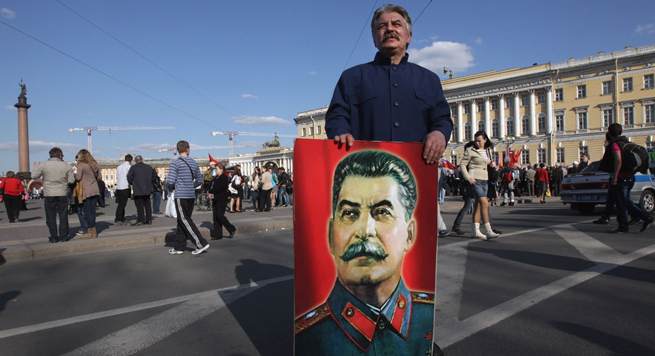 War hero? The Hitler-Stalin pact gave Russia valuable time to build up her military capability. Source: EPA / Vostock Photo